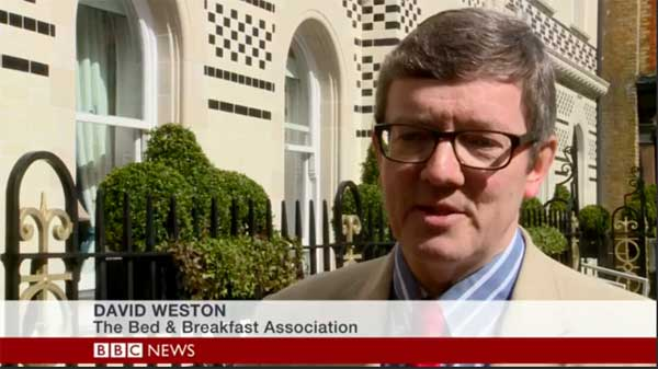 David Weston on BBC News channel