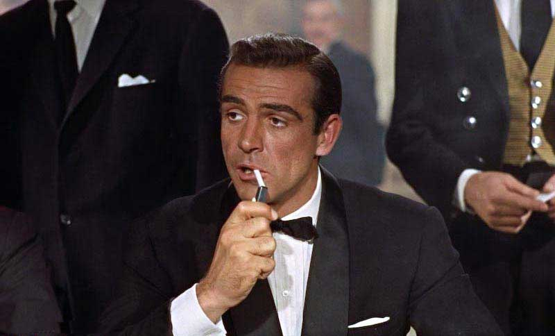 Sean Connery as James Bond 007 in Dr No