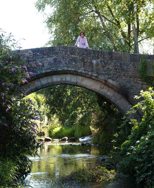 Packhorse Bridge, Bruton