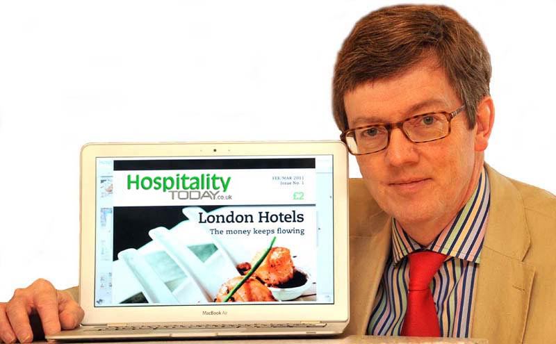 David Weston, with Hospitality Today online