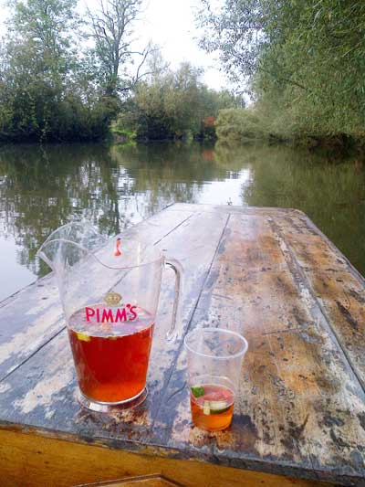 Punt and Pimms
