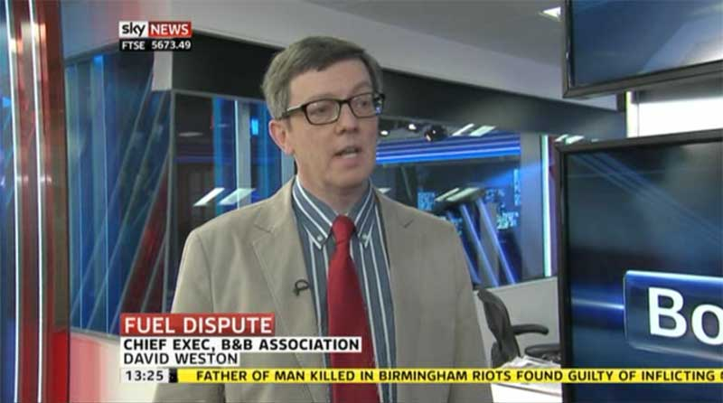 David Weston on Sky News, 5 April 2012
